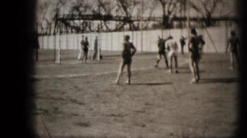 Handball match Stock Video Footage