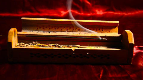 Incense Stick 01 Stock Video Footage