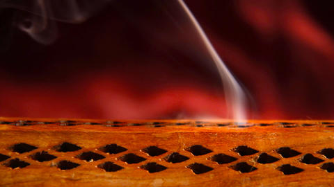 Incense Stick 05 Stock Video Footage