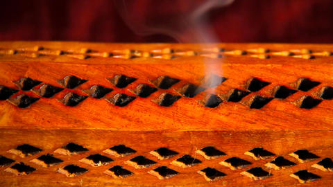 Incense Stick 07 Stock Video Footage