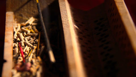 Incense Stick 09 Stock Video Footage