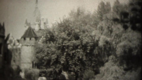 Old castle Footage