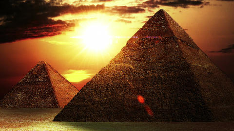 Pyramids 01 Stock Video Footage