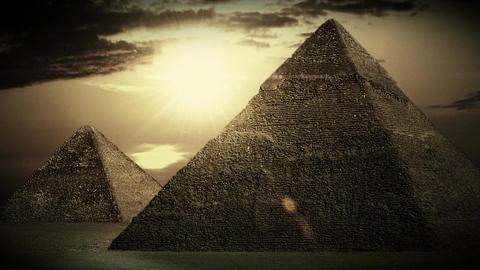 Pyramids 03 Stock Video Footage