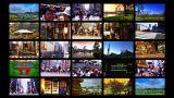 Tokyo Street Splitscreen 04 stock footage