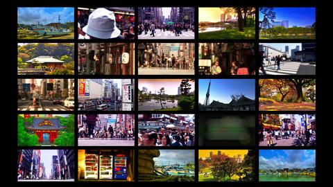Tokyo Street Splitscreen 04 Footage