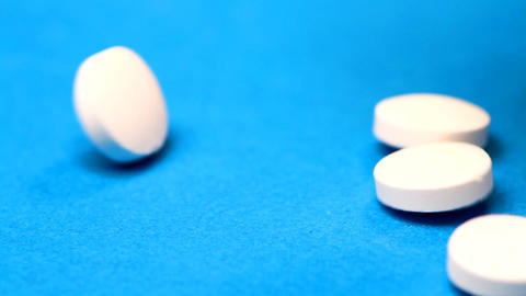 medicines and tablets Stock Video Footage