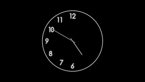 Clock-22C Stock Video Footage