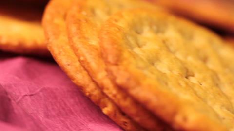 cookies macro Stock Video Footage
