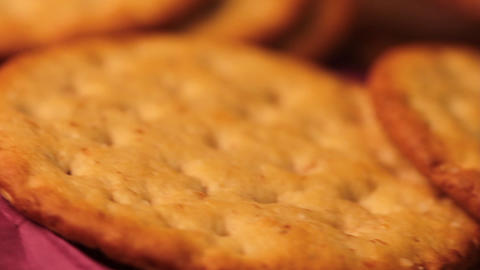 Cookies Macro stock footage