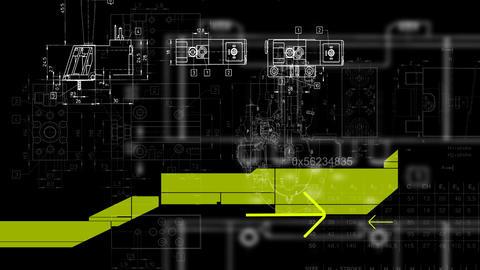 animated technological backgrounds, Stock Animation
