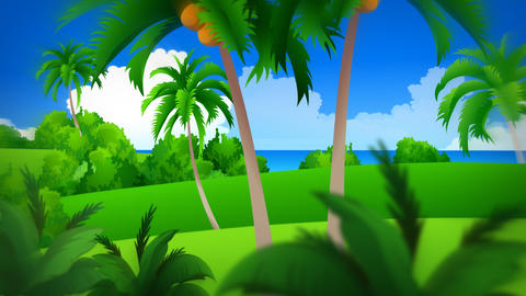 Animated background for television presentations Stock Video Footage