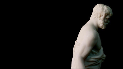 animated sculptures for the background Stock Video Footage