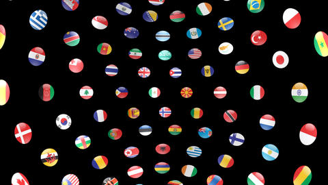 World Flags B Icm Animation