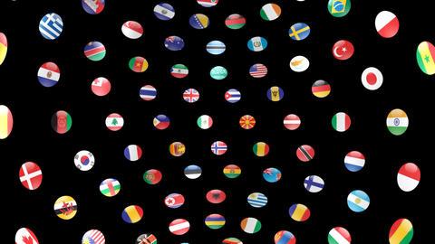 World Flags B Icm Animation