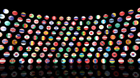 World Flags R Mcm Animation
