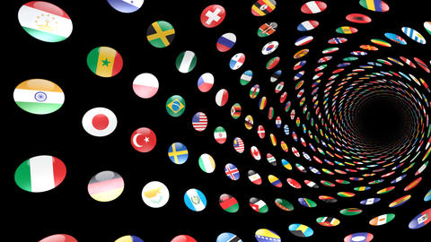 World Flags T Yrcm CG動画