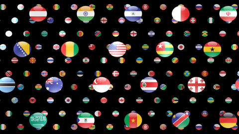 World Flags W Fcm Animation