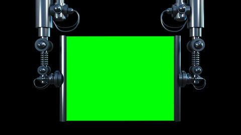 television screen saver Stock Video Footage