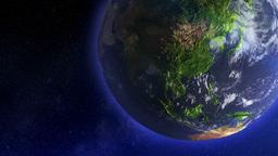 Earth Globe Rotating, Loop Stock Video Footage