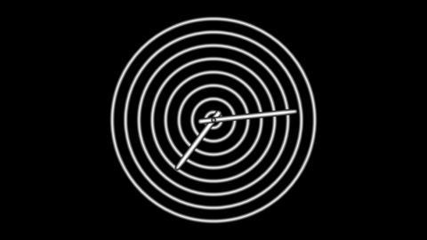 Clock-33C Stock Video Footage