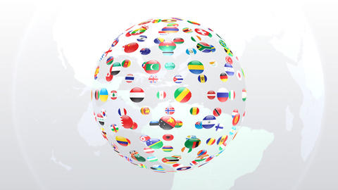 World Flags B Fce Animation