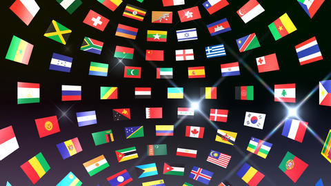 World Flags B Ibb Animation