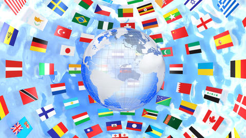 World Flags B Ibe CG動画