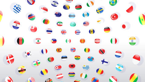 World Flags B Icw Animation