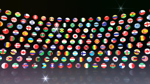 World Flags R Mcb Stock Video Footage