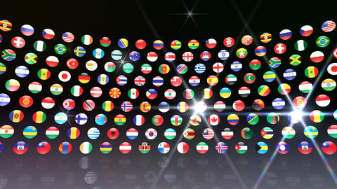World Flags R Mcb CG動画