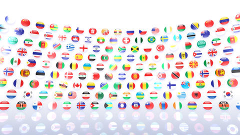 World Flags R Mcw CG動画
