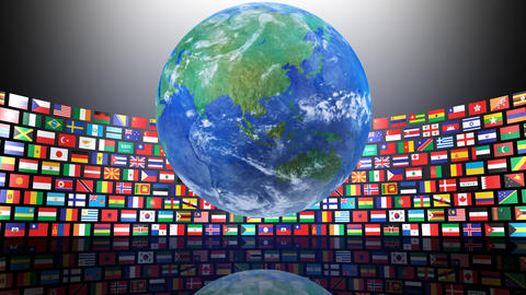 World Flags R Sbe Stock Video Footage