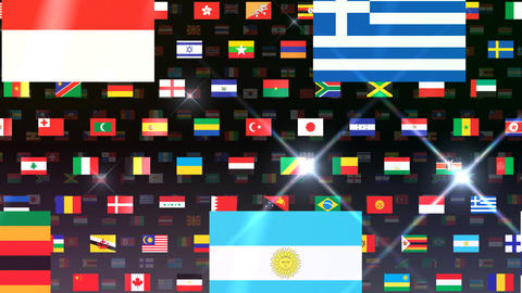 World Flags W Fbb Animation