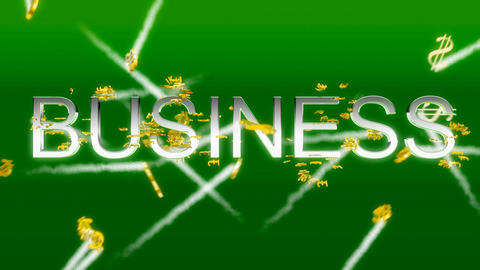 Business concept - making money (US dollars) Animation