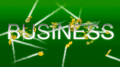 Business concept - making money (US dollars) Stock Video Footage