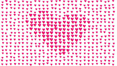 valentine card background Stock Video Footage