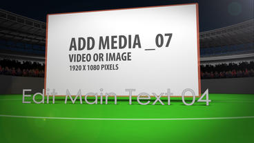 Your Stadium AE Version 4 After Effects Template