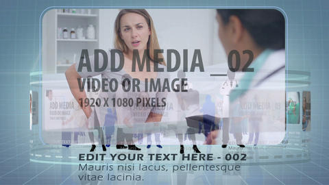 Medical Carousel AE Version 5 After Effects Template