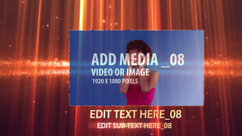 Warm Video Roatation AE Version 5 After Effects Template