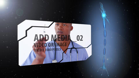Neuron/Brain Concept AE Version 4 After Effects Template