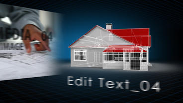 Structure Design AE Version 4 After Effects Template