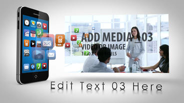 SmartPhone Apps AE Version 4 After Effects Project