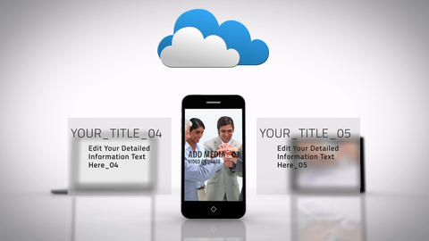 Cloud Computing Data - AE Version 5 After Effects Template