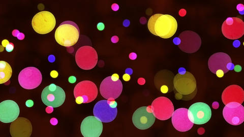 defocused christmas lights loopable background Animation