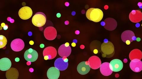 defocused christmas lights loopable background Animation