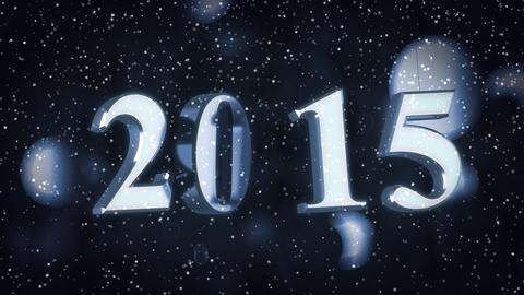 Year 2015 Animation