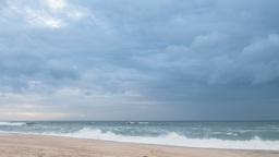 Storm Clouds at the beach Footage