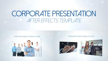 Corporate Presentation - After Effects Template After Effectsテンプレート
