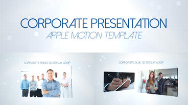 Corporate Presentation - Apple Motion and Final Cut Pro X Template Plantilla de Apple Motion